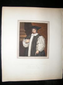 Ackermann History of Oxford 1815 H/Col. Gilbert Sheldon, Archbishop of Canterbury